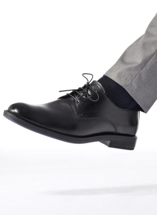 Lace-up shoes Mr SARENZA Nills Black view from underneath / model view