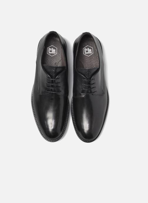 Zapatos con cordones Mr SARENZA Nills Negro vista del modelo