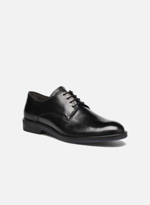 Zapatos con cordones Mr SARENZA Nills Negro vista lateral derecha