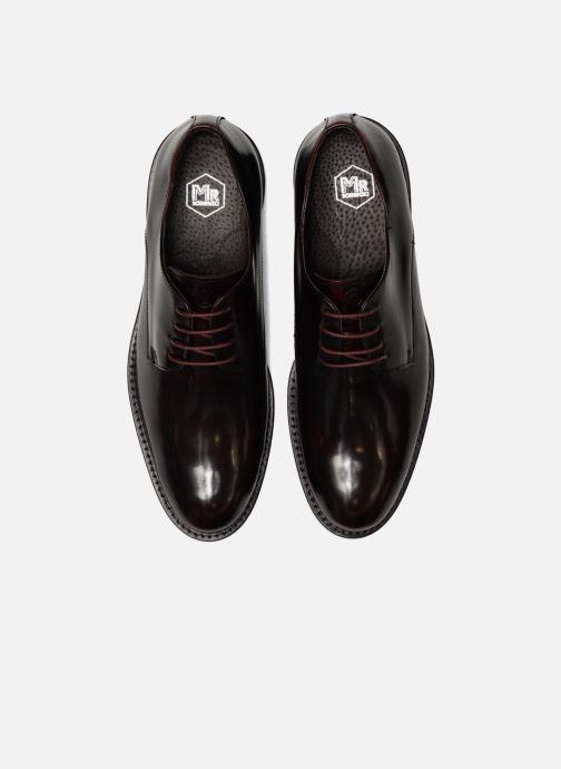 Chaussures à lacets Mr SARENZA Nills Bordeaux vue portées chaussures