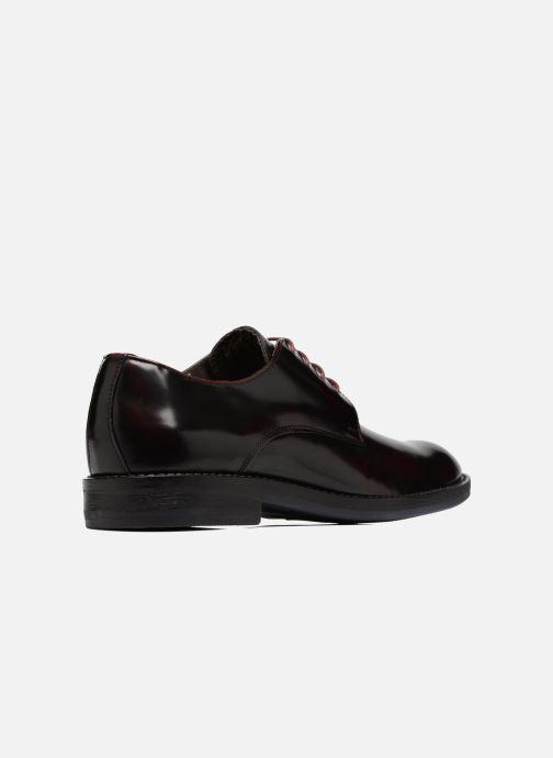 Chaussures à lacets Mr SARENZA Nills Bordeaux vue face