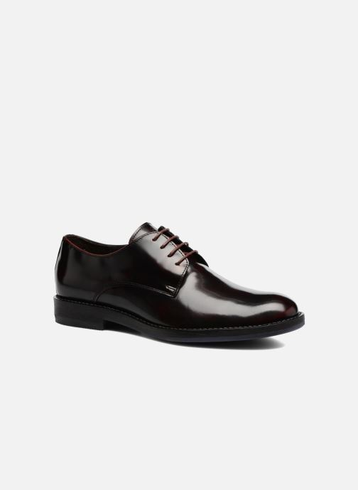 Lace-up shoes Mr SARENZA Nills Burgundy view from the right