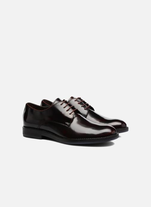 Lace-up shoes Mr SARENZA Nills Burgundy back view