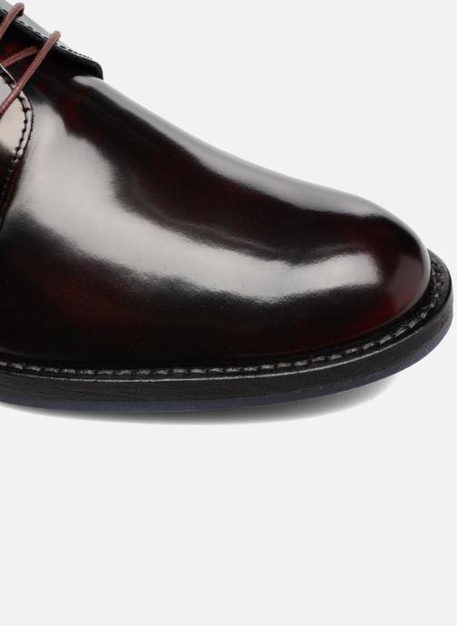 Chaussures à lacets Mr SARENZA Nills Bordeaux vue gauche