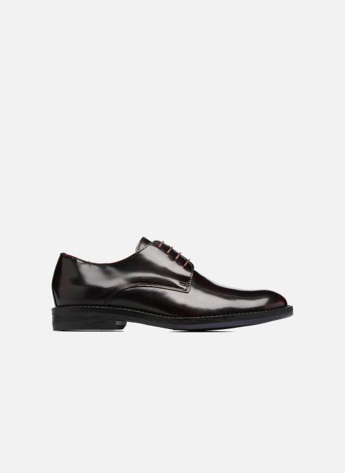 Chaussures à lacets Mr SARENZA Nills Bordeaux vue détail/paire