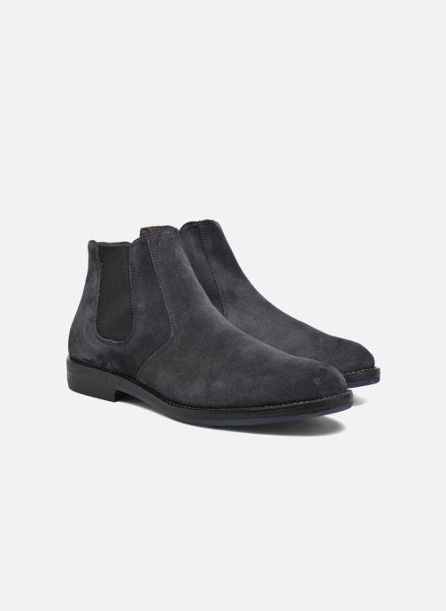 Boots en enkellaarsjes Mr SARENZA Nethway Blauw achterkant