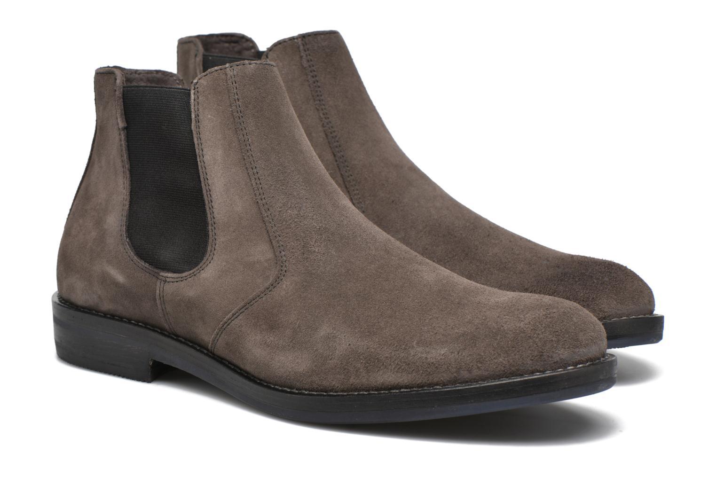 Boots en enkellaarsjes Mr SARENZA Nethway Bruin achterkant