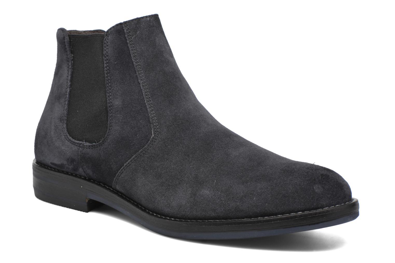 Bottines et boots Mr SARENZA Nethway Bleu vue droite