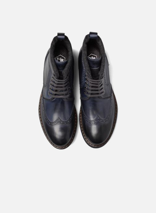Bottines et boots Mr SARENZA Newyork Bleu vue portées chaussures