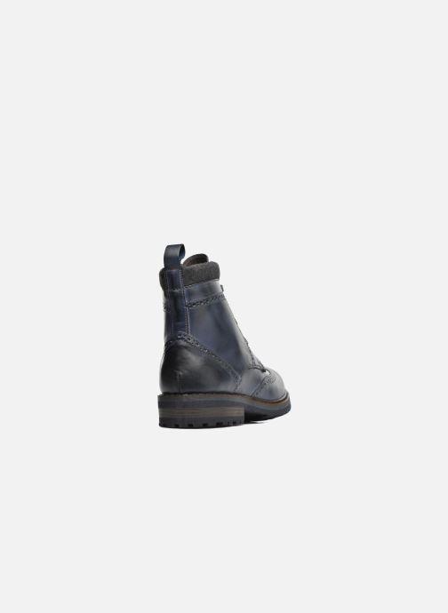 Bottines et boots Mr SARENZA Newyork Bleu vue face