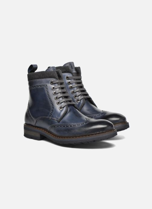 Bottines et boots Mr SARENZA Newyork Bleu vue derrière