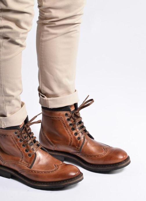 Bottines et boots Mr SARENZA Newyork Marron vue bas / vue portée sac