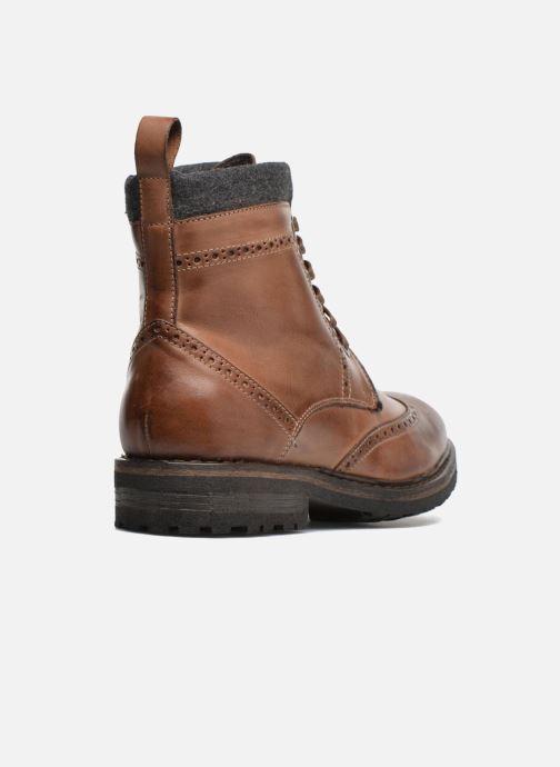 Bottines et boots Mr SARENZA Newyork Marron vue face