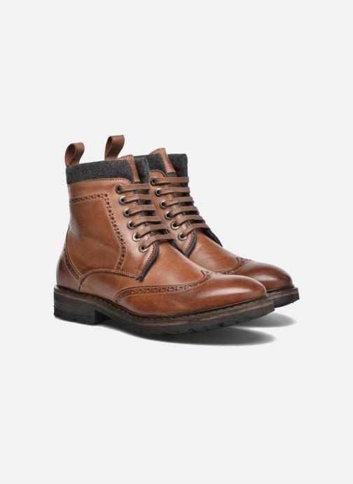 Boots en enkellaarsjes Mr SARENZA Newyork Bruin achterkant