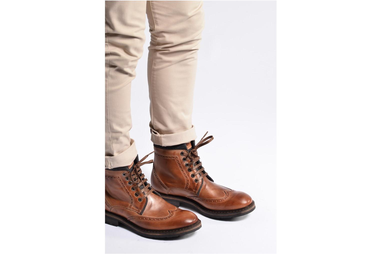 Bottines et boots Mr SARENZA Newyork Bleu vue bas / vue portée sac