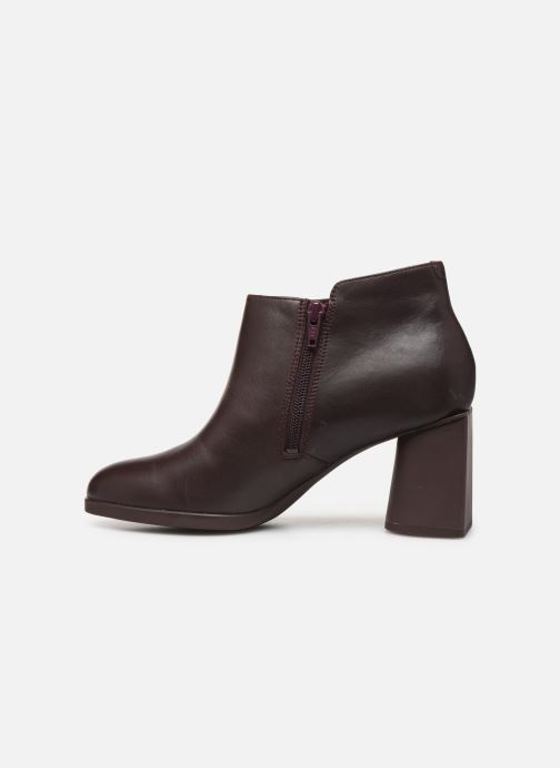 Ankle boots Camper Lea K400107 Burgundy front view