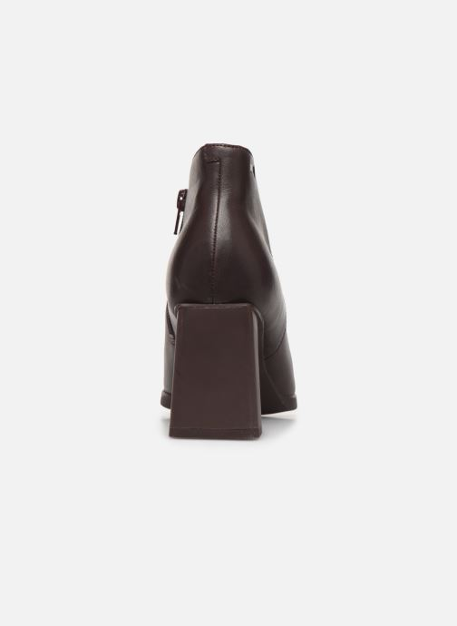Ankle boots Camper Lea K400107 Burgundy view from the right