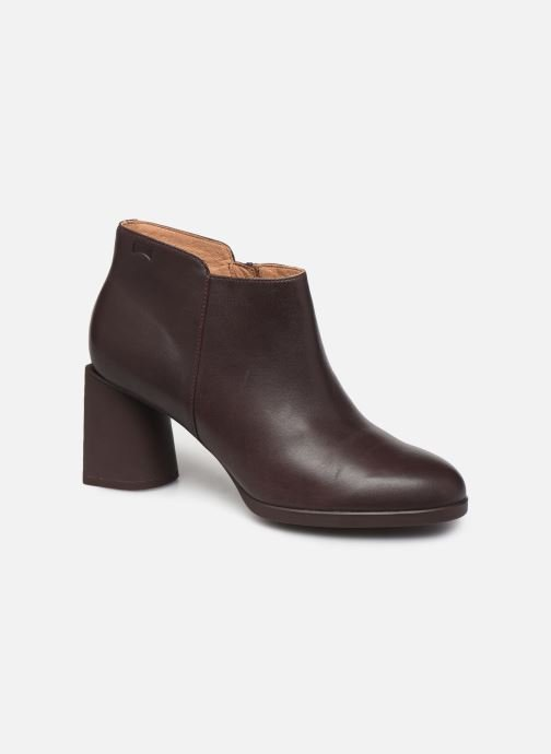 Ankle boots Camper Lea K400107 Burgundy detailed view/ Pair view