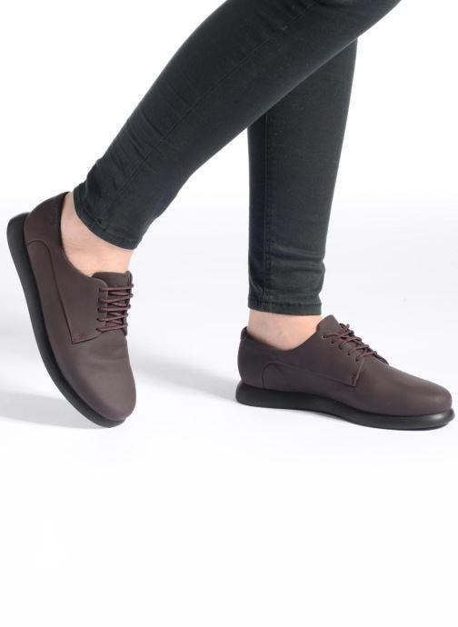 Chaussures à lacets Camper Monday K200249 Violet vue bas / vue portée sac