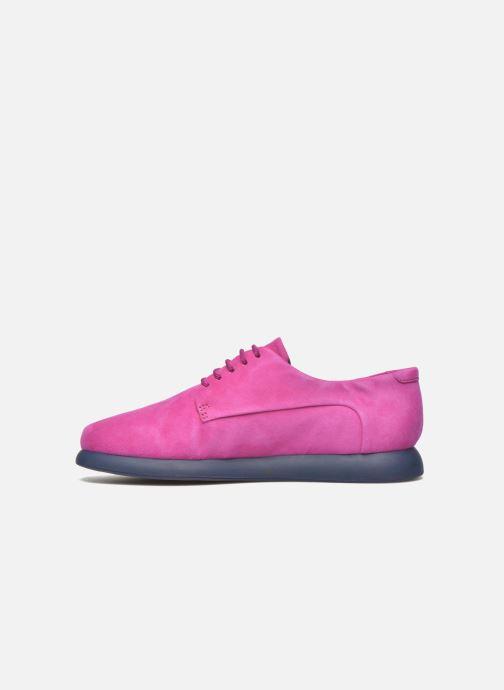 Chaussures à lacets Camper Monday K200249 Violet vue face