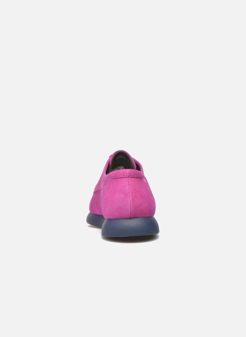 Zapatos con cordones Camper Monday K200249 Violeta      vista lateral derecha