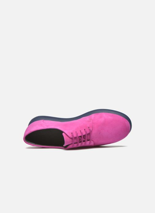 Chaussures à lacets Camper Monday K200249 Violet vue gauche