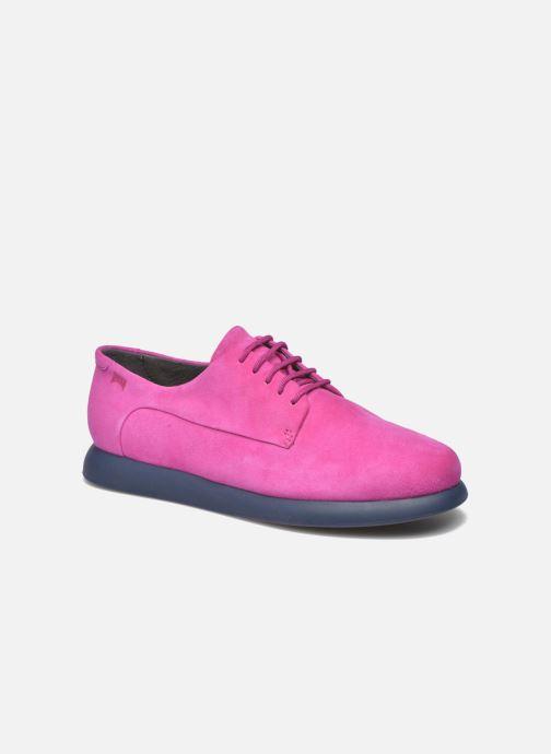Chaussures à lacets Camper Monday K200249 Violet vue détail/paire