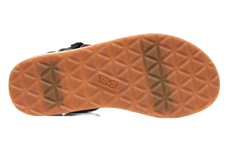 Sandales et nu-pieds Teva Original Universal Ombre Noir vue haut