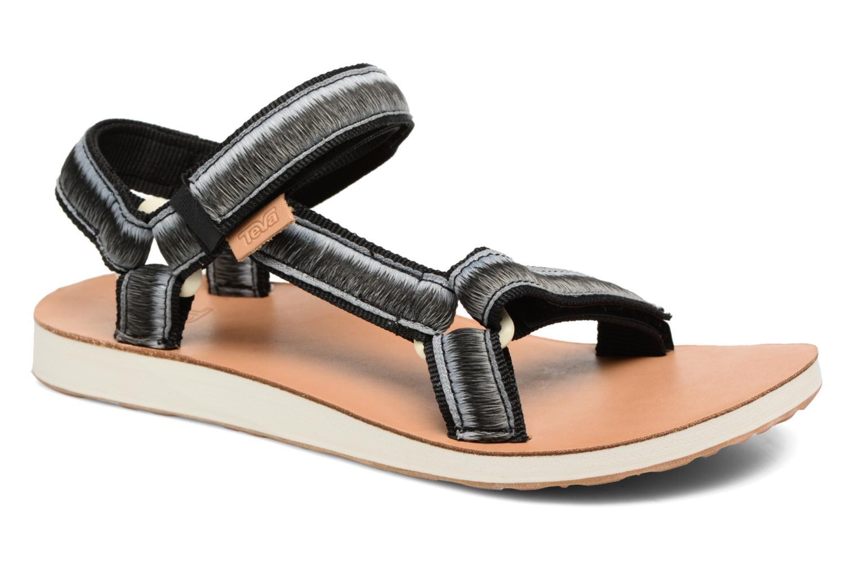 Sandales et nu-pieds Teva Original Universal Ombre Noir vue détail/paire