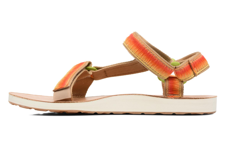 Sandales et nu-pieds Teva Original Universal Ombre Orange vue face