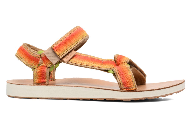 Sandales et nu-pieds Teva Original Universal Ombre Orange vue derrière