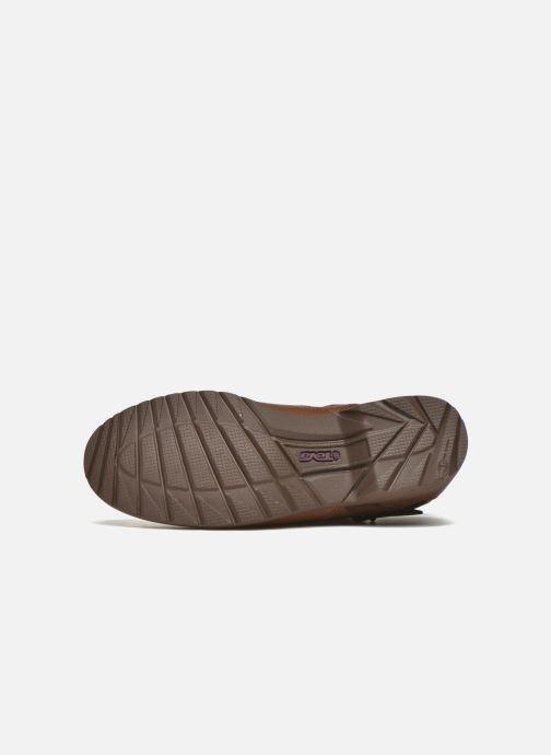 Bottines et boots Teva Delavina Ankle - Mosaic Marron vue haut