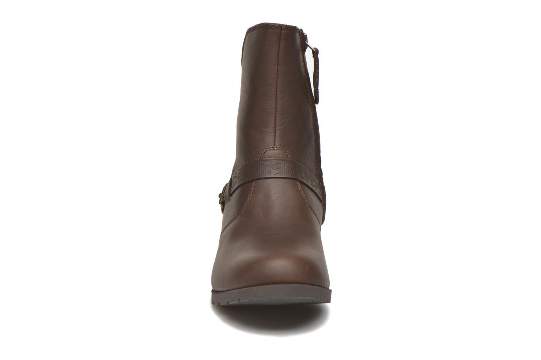 Bottines et boots Teva Delavina Low - Mosaic Marron vue portées chaussures