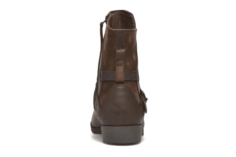 Bottines et boots Teva Delavina Low - Mosaic Marron vue droite