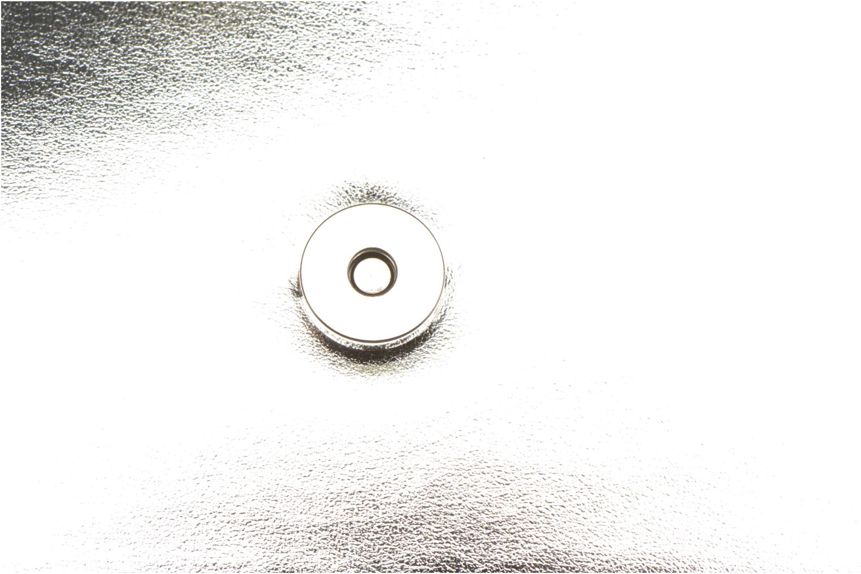 Bolsos Clutch COSMOPARIS EDILA/MET Sac pochette Plateado vista lateral izquierda