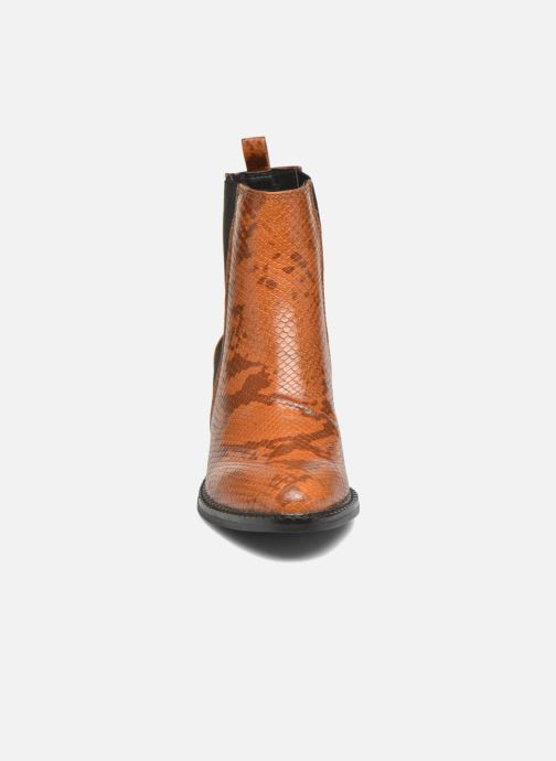 Ankle boots Vero Moda Naya Boot Brown model view