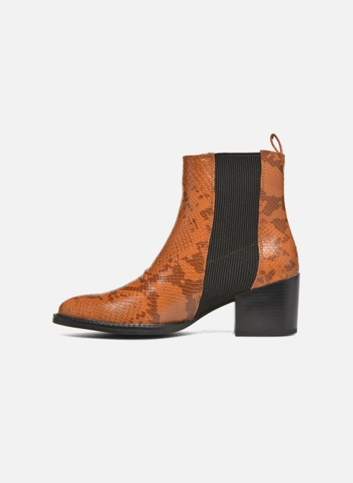 Ankle boots Vero Moda Naya Boot Brown front view