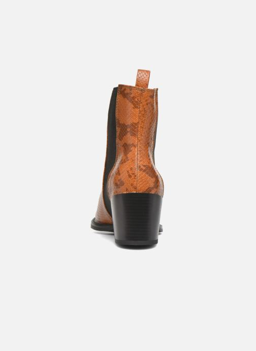 Ankle boots Vero Moda Naya Boot Brown view from the right