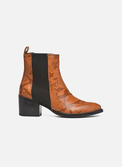 Ankle boots Vero Moda Naya Boot Brown back view