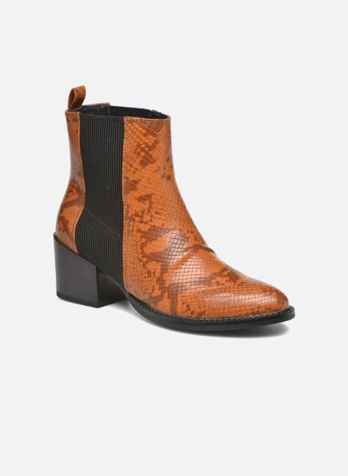 Ankle boots Vero Moda Naya Boot Brown detailed view/ Pair view