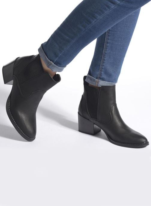 Botines  Vero Moda Vibe Boot Negro vista de abajo