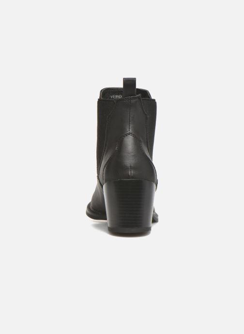 Botines  Vero Moda Vibe Boot Negro vista lateral derecha