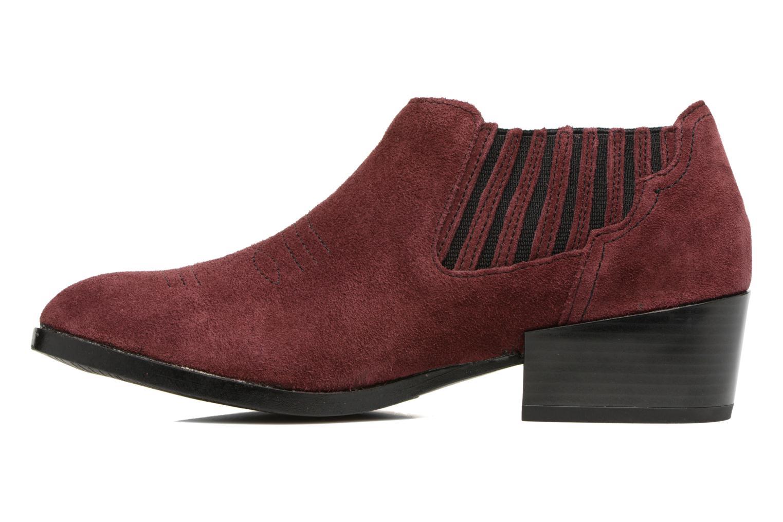 Casual salvaje  Vero Moda Western Leather Low Low Low Boot (Vino) - Botines  en Más cómodo 01dae0