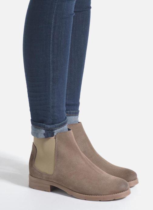 Bottines et boots Vero Moda Sofie Leather Boot Noir vue bas / vue portée sac