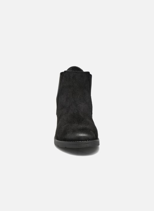 Boots Vero Moda Sofie Leather Boot Svart bild av skorna på