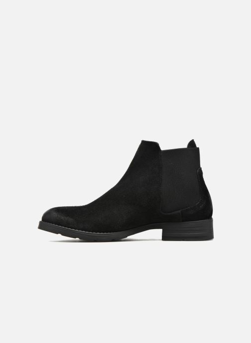 Boots Vero Moda Sofie Leather Boot Svart bild från framsidan