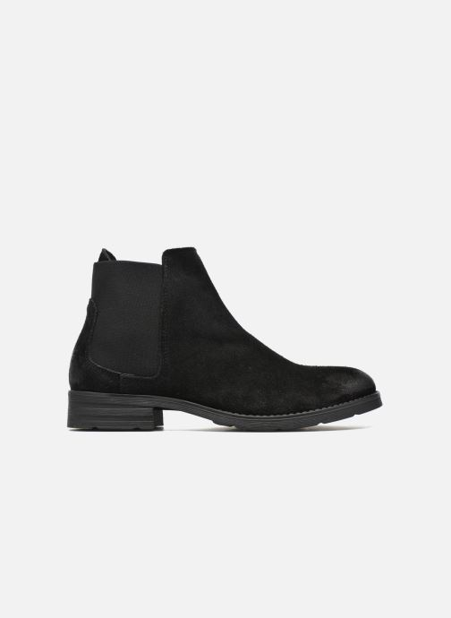 Boots Vero Moda Sofie Leather Boot Svart bild från baksidan
