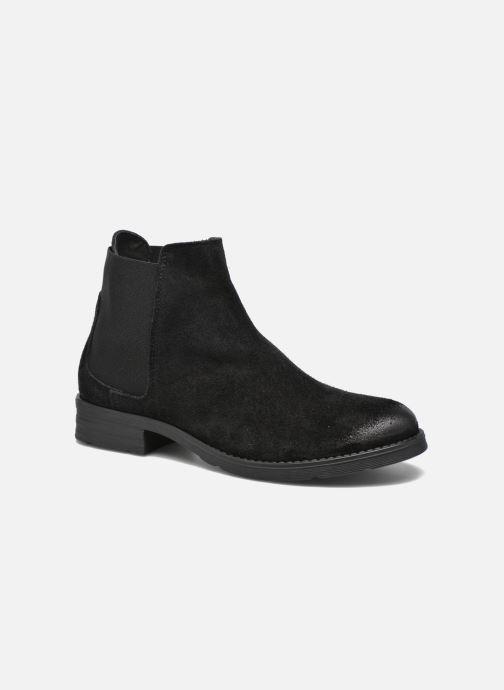 Bottines et boots Vero Moda Sofie Leather Boot Noir vue détail/paire
