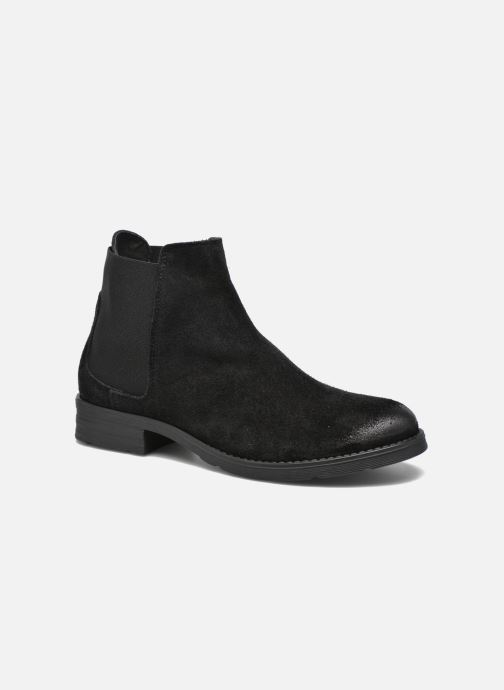 Boots Vero Moda Sofie Leather Boot Svart detaljerad bild på paret