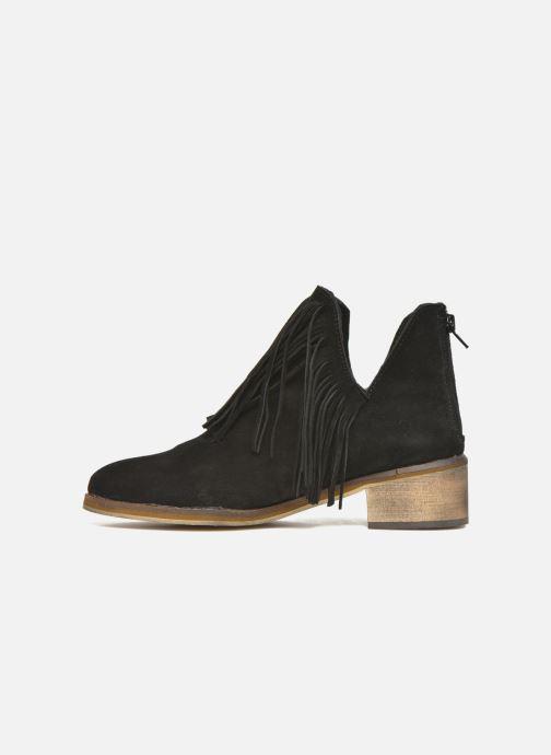 Bottines et boots Vero Moda Laure Leather Boot Noir vue face